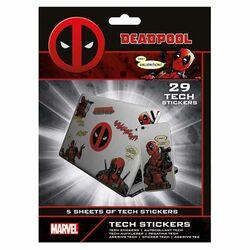 Nálepky Marvel Deadpool