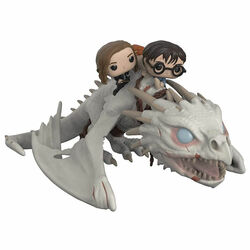 POP! Alien as Dragon with Harry Ron and Hermioně (Harry Potter)