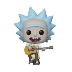 POP!  Tiny Rick with Guitar (Rick and Morty)