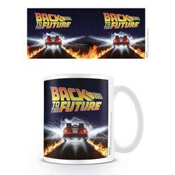 Šálka Back to the Future DeLorean