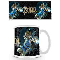 Šálek Legend of Zelda Breath of the Wild-Game Cover