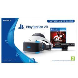 Sony PlayStation VR + Sony PlayStation 4 Camera + Gran Turismo Sport