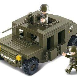 Stavebnica - Obrnené vozidlo (175 dielikov)