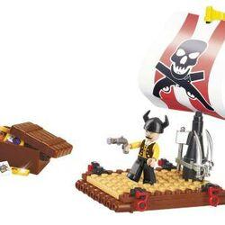 Stavebnice-Pirate-Pirátská vor