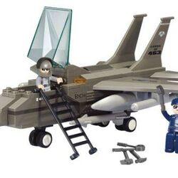 Stavebnice-Army-Stíhačka F-15