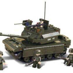 Stavebnice-Tank (312 dílků)