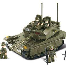 Stavebnice-Tank (334 dílků)