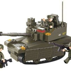 Stavebnice-Tank Leopard-2A6M (224 dílků)