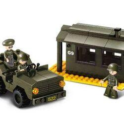 Stavebnica - Vojenská stráž (171 dielikov)