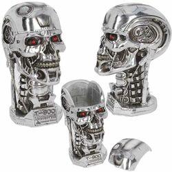 T-800 Bust Storage Box Head (Terminator 2) 21 cm