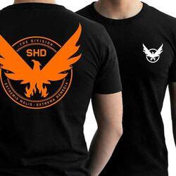 Tričko Division 2 Emblem S